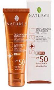 Lista de crema solar antiarrugas para comprar On-line