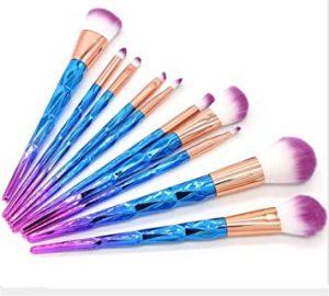 Catálogo de brochas maquillaje diseño unicornio espiral para comprar online – El TOP 20