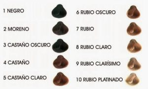 Recopilación de colores tinte de pelo para comprar en Internet