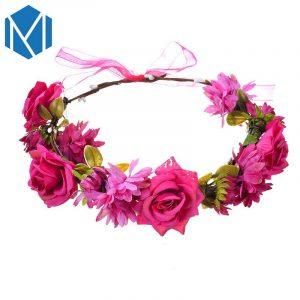 Opiniones de diademas de flores para el pelo para comprar On-line