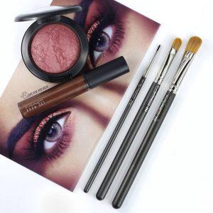 La mejor recopilación de brochas maquillaje sombra colorete labios para comprar online