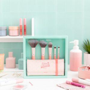 Catálogo de brochas maquillaje colorete portátil estuche para comprar online