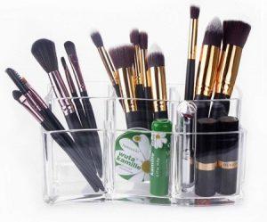 Lista de Brochas Maquillaje Holder Pincel Organizador para comprar por Internet – Los mejores