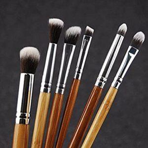 La mejor lista de brochas maquillaje bambú sombras profesional para comprar