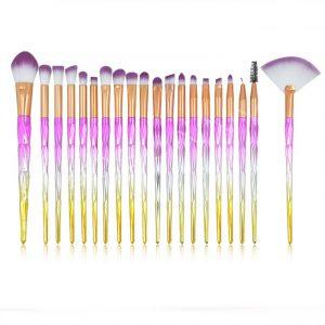 Catálogo para comprar On-line brochas maquillaje piezas sombra diamante – Los más solicitados