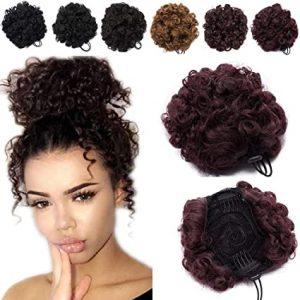 postizos de pelo natural para recogidos que puedes comprar en Internet