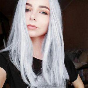 Catálogo para comprar en Internet tinte de pelo color blanco